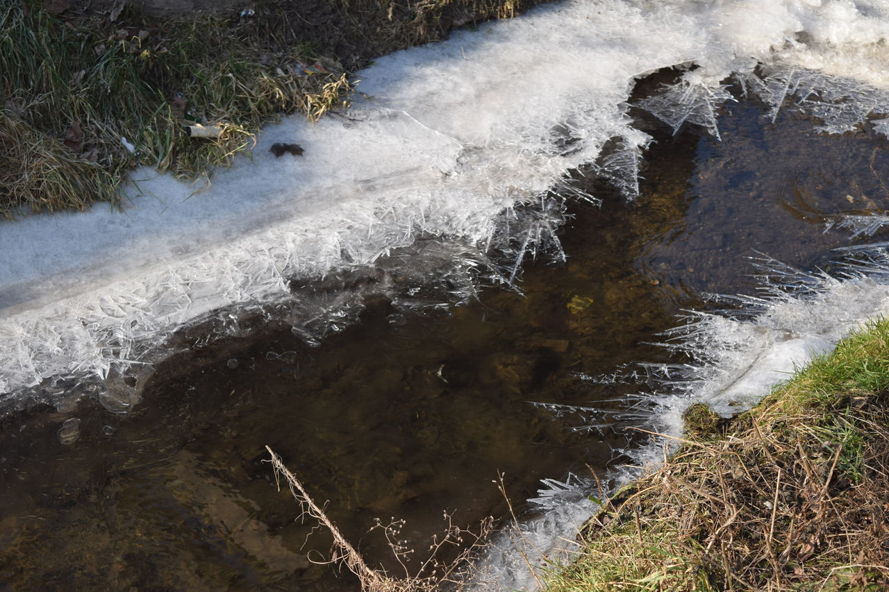 No People Nature Outdoors At The River Frosted Iced Water_collection How Is The Weather Today? February 2017 Winter 2017 Sunlight