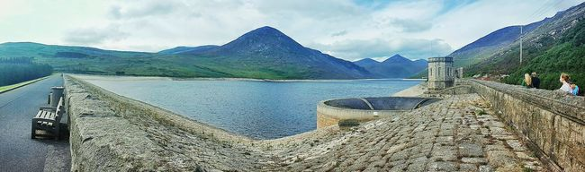 Panoramic Mountain Water Tranquil Scene Sky Lake Scenics Tranquility Cloud Mountain Range Nature Calm Beauty In Nature Outdoors Cloud - Sky Day Non-urban Scene Mourne Mountains Northernireland Panoramic Mountain Water Sky Tranquil Scene Lake