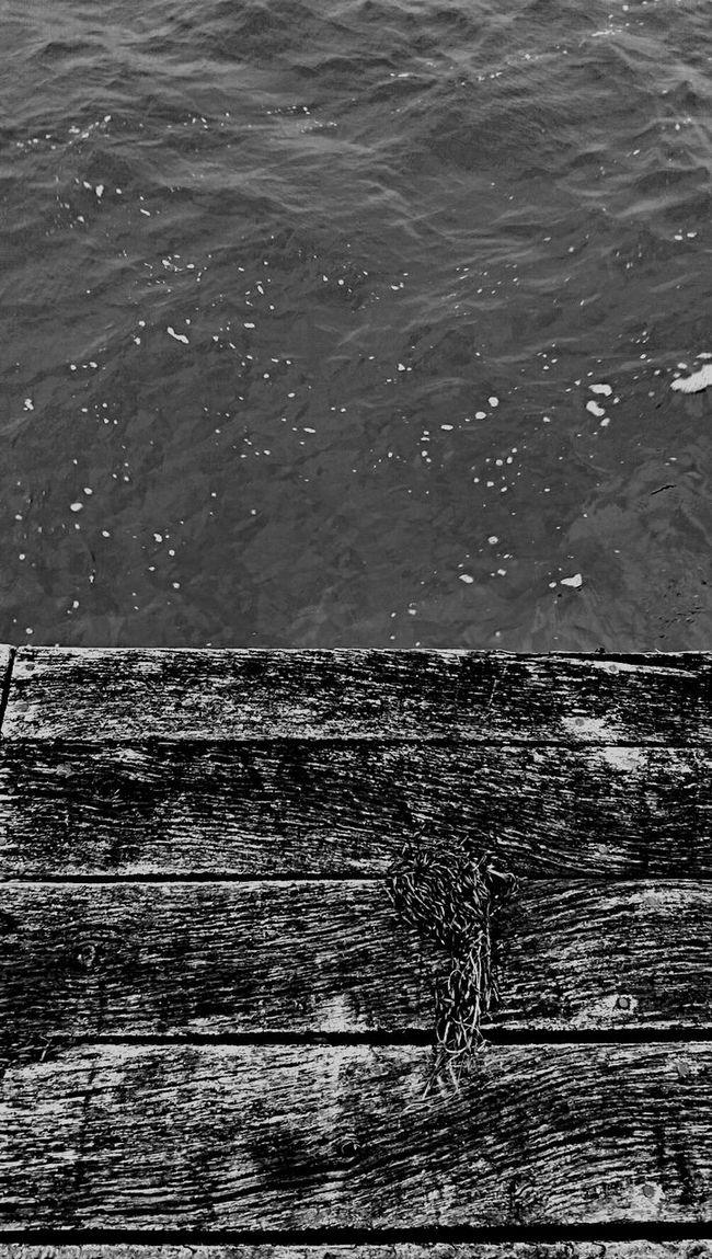 Blackandwhite Taking Photos Sea Side