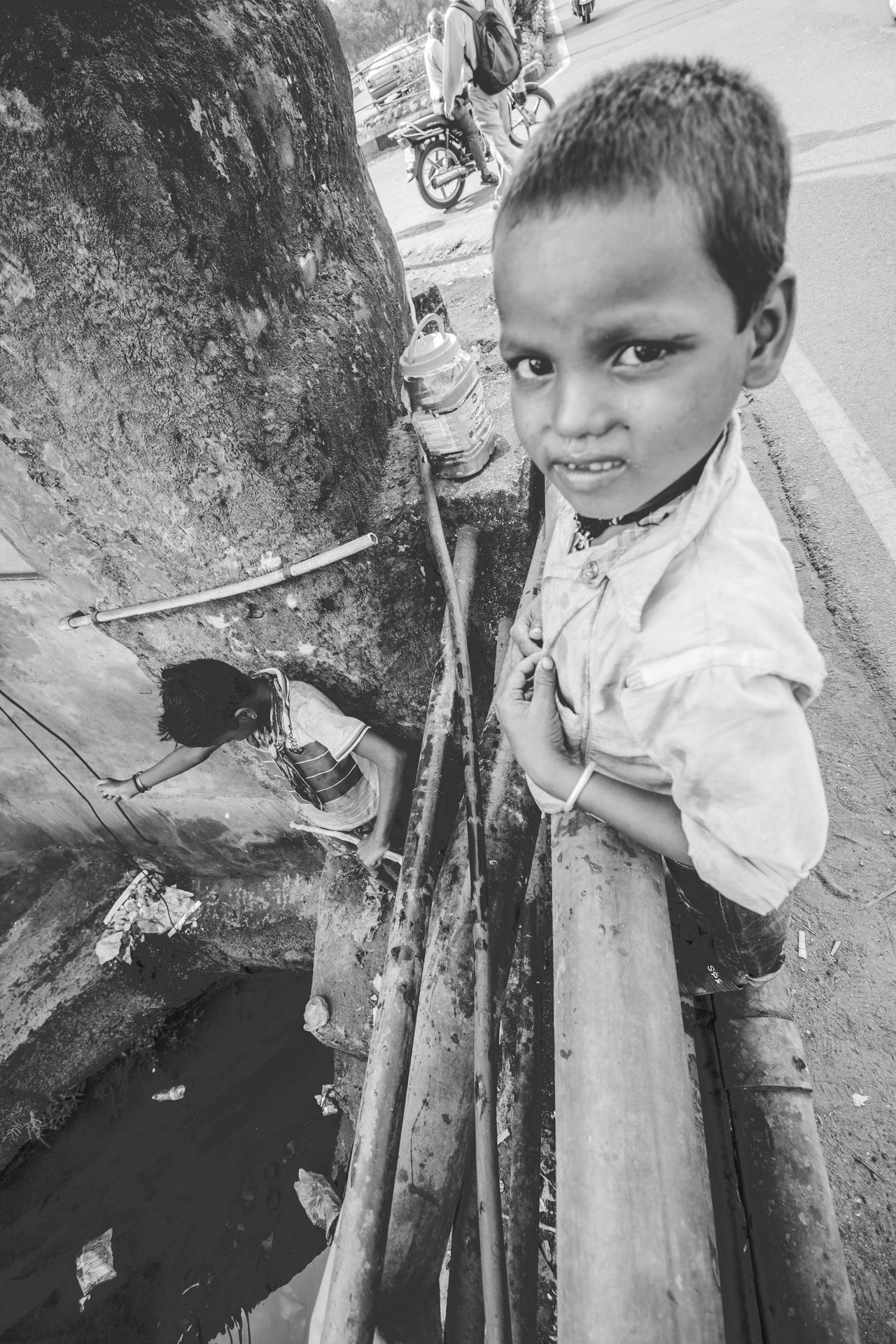 Black Black And White Black And White Collection  Children Documentary Documentary Photography Emotion Expression Fishing Goa India Joy Street Street Photography Streetphoto_bw The Street Photographer - 2016 EyeEm Awards