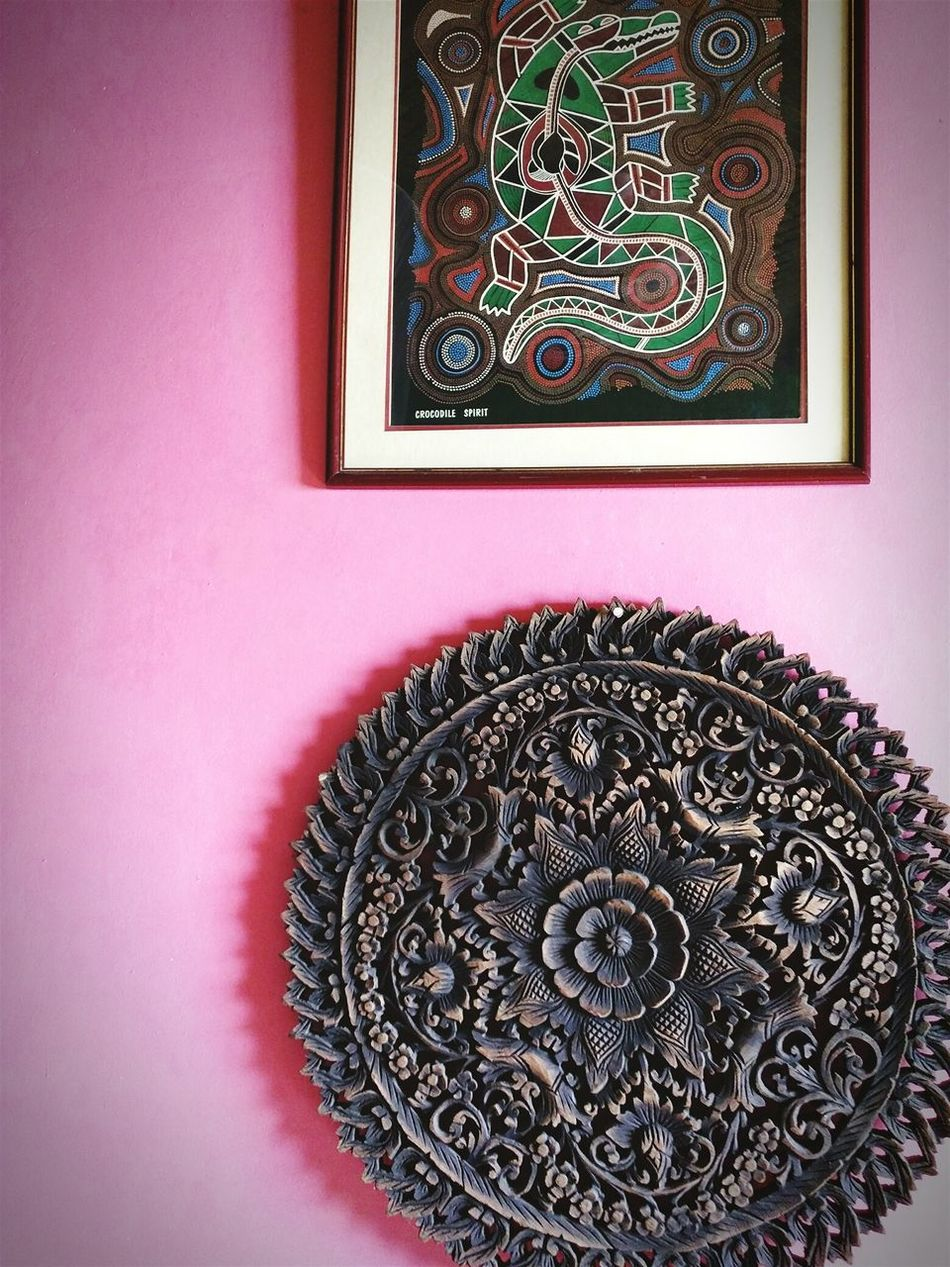 @Pullman's Mansion Art And Craft Indoors  Thai Decor Style Pastel Wall Pink Wall ♡♥♡
