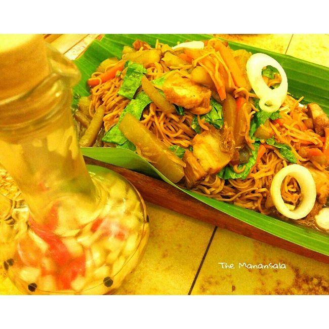 Lucban, Quezon's pancit habhab served in Buddy's Foodgasm Foodporn Pancithabhab Itsmorefuninthephilippines