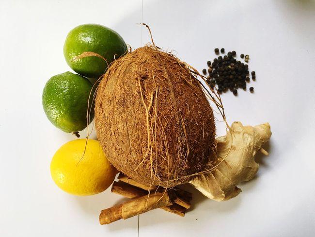 Beard Oil Ingredients. Fruit Coconut Lime Lemon Ginger Essentialoils Cinnamon Blackpepper Business Beard Beardelicious Mybusiness Ingredients