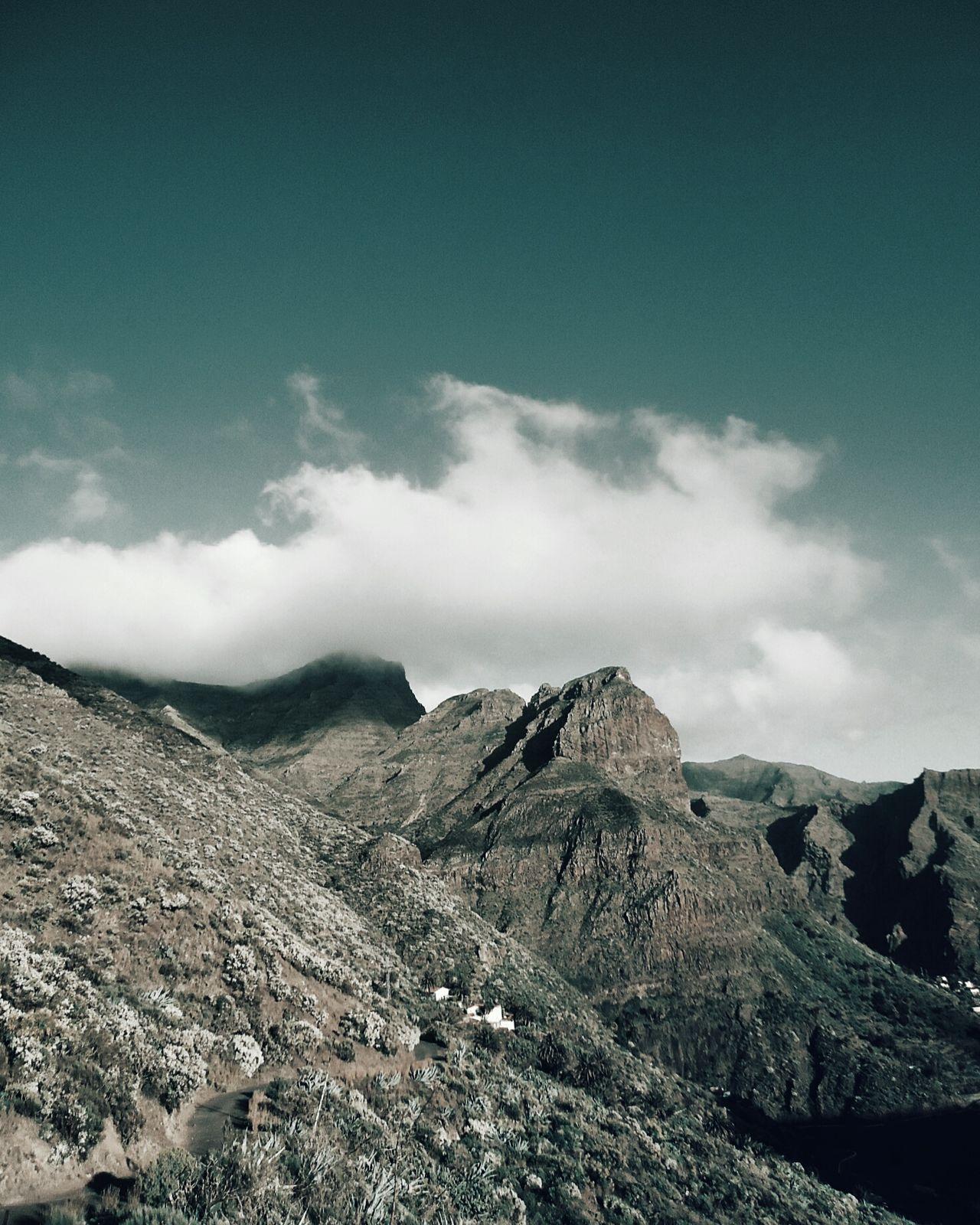 Landscape Mountain Mountain Range Beauty In Nature Cloud - Sky Nature Dramatic Sky Volcano Teneriffa Volcanoes Islands Island Life Canary Islands