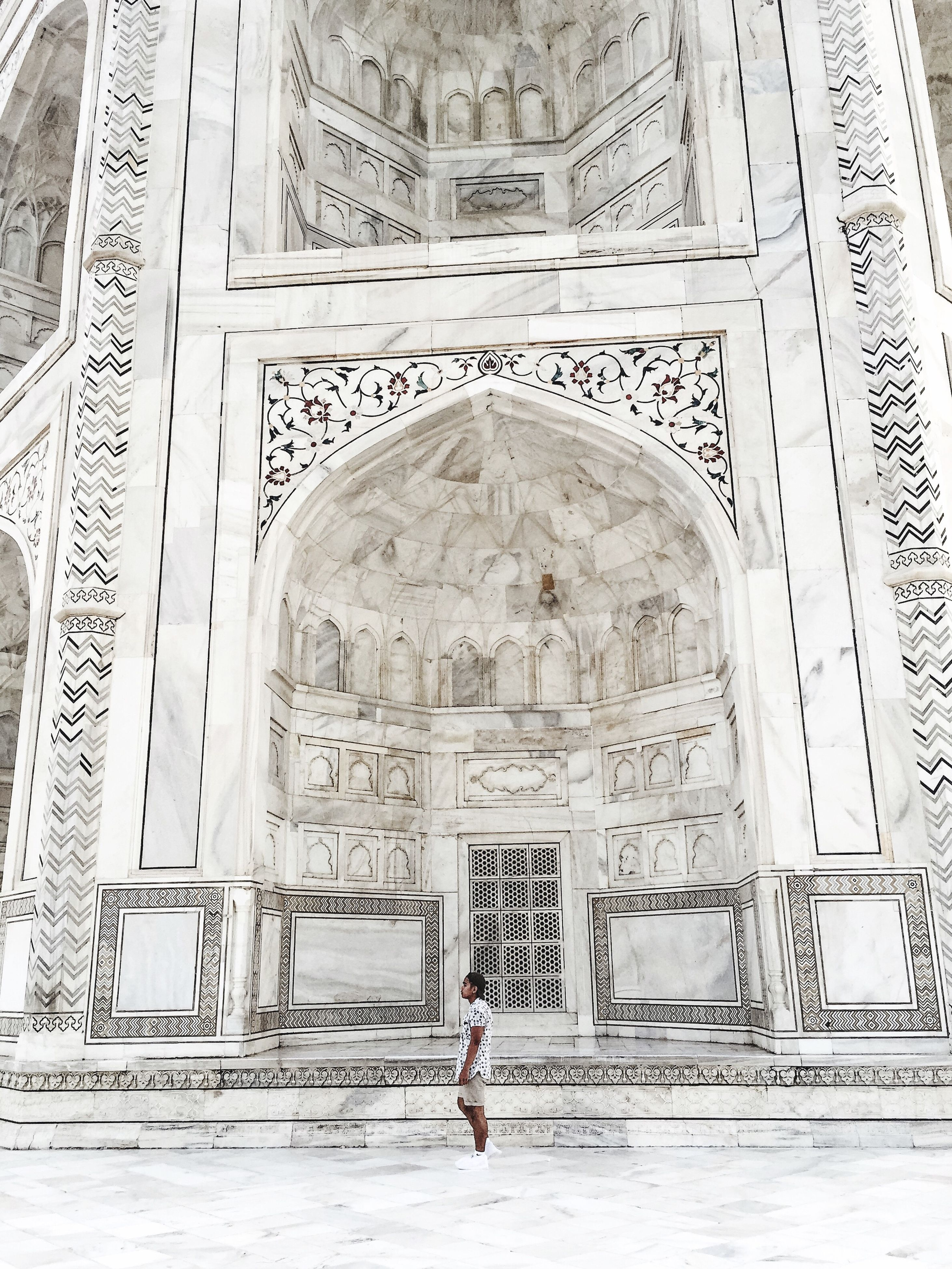 architecture, arch, built structure, indoors, history, spirituality, standing, place of worship, entrance, the past, ancient, day, archway, facade, creativity, mausoleum