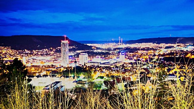 Here Belongs To Me Night Lights Jena Urban Spring Fever Thuringen Sony A6000 EyeEm Best Shots Nightphotography Nightlights Night The Countryside At Night Easter Clouds And Sky Cloudporn University Cityscapes City