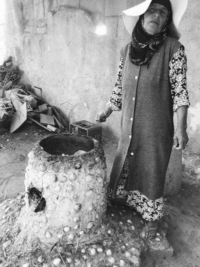 Tabouna bread in Mahdia Tunisia
