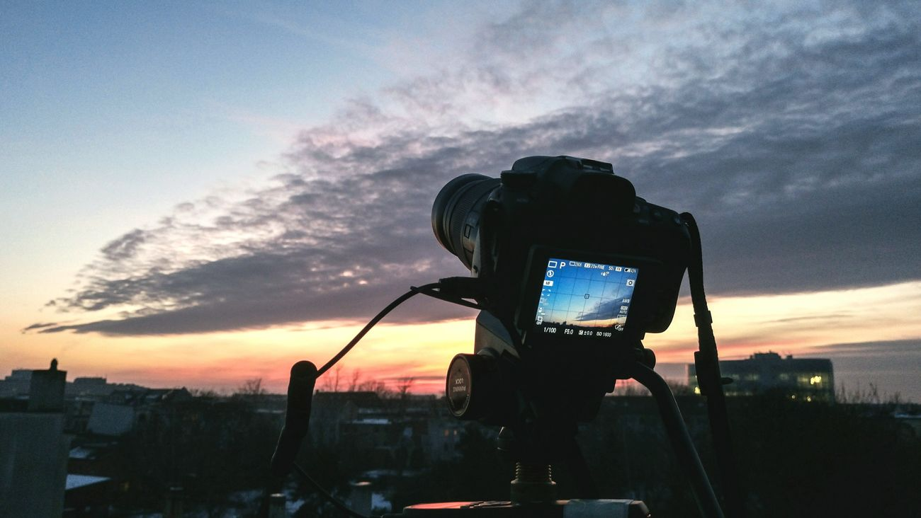 My Camera while taking time-lapse videos. Dramatic Sky Cityscape Skyscraper Architecture City Downtown District Business Finance And Industry City Life Travel Destinations No People Outdoors Sky Urban Landscape Wanderlust VSCO AdobeLightroom Miles Away Capturing Freedom Focus Break The Mold