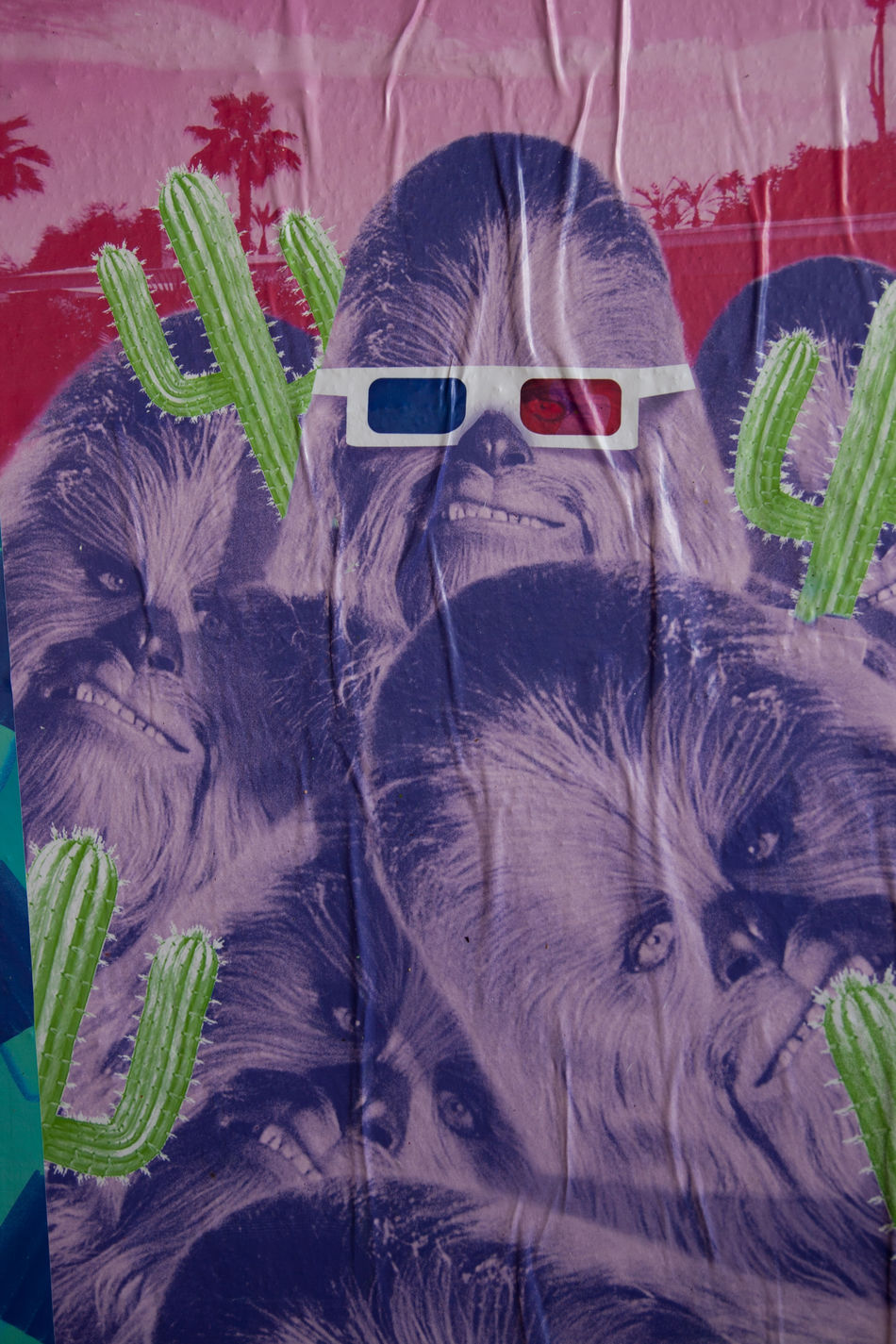 Art Chewbacca Close-up Day France No People Outdoors Paris Streetart