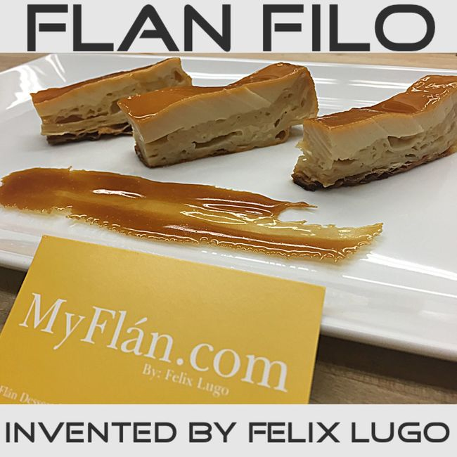 Filó Phyllo Flan Pudim Desserts Dessert Dinner Foodporn Ellentv Food