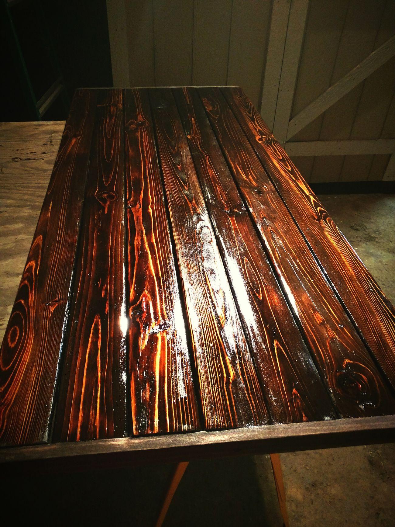 Vintage Reclaimed Barnwood Coffeetable Wood Grain Beauty Red Wood Quality Craftsman Hobbies