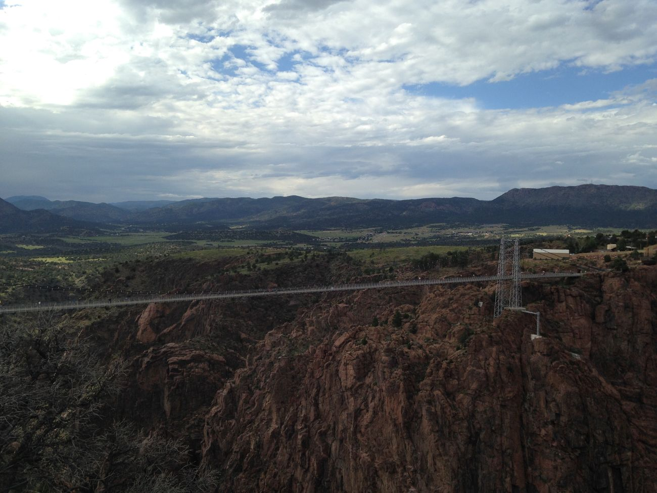 Royal Gorge Colorado Bridge Arkansas River