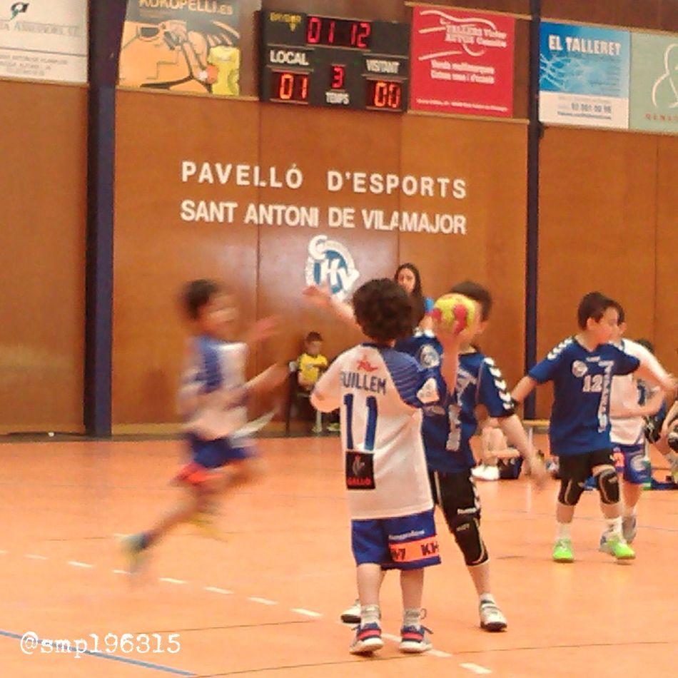 Handball Santantonidevilamajor vs Granollers prebenjamín 8/15. Igersvoriental