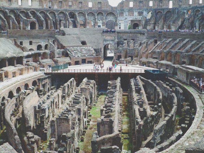 Building Beautiful Photography Vintage Italy Italia Rome Ruins Coliseum