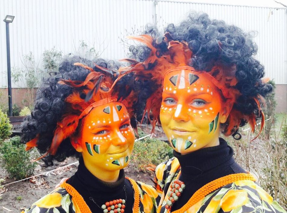 Day Face Paint Real People Clown Outdoors One Person Close-up People Only Men Carnaval Carnaval 2017 Parias Orange Daugter Party Focus On Foreground Proud Mommy Resist Art Is Everywhere