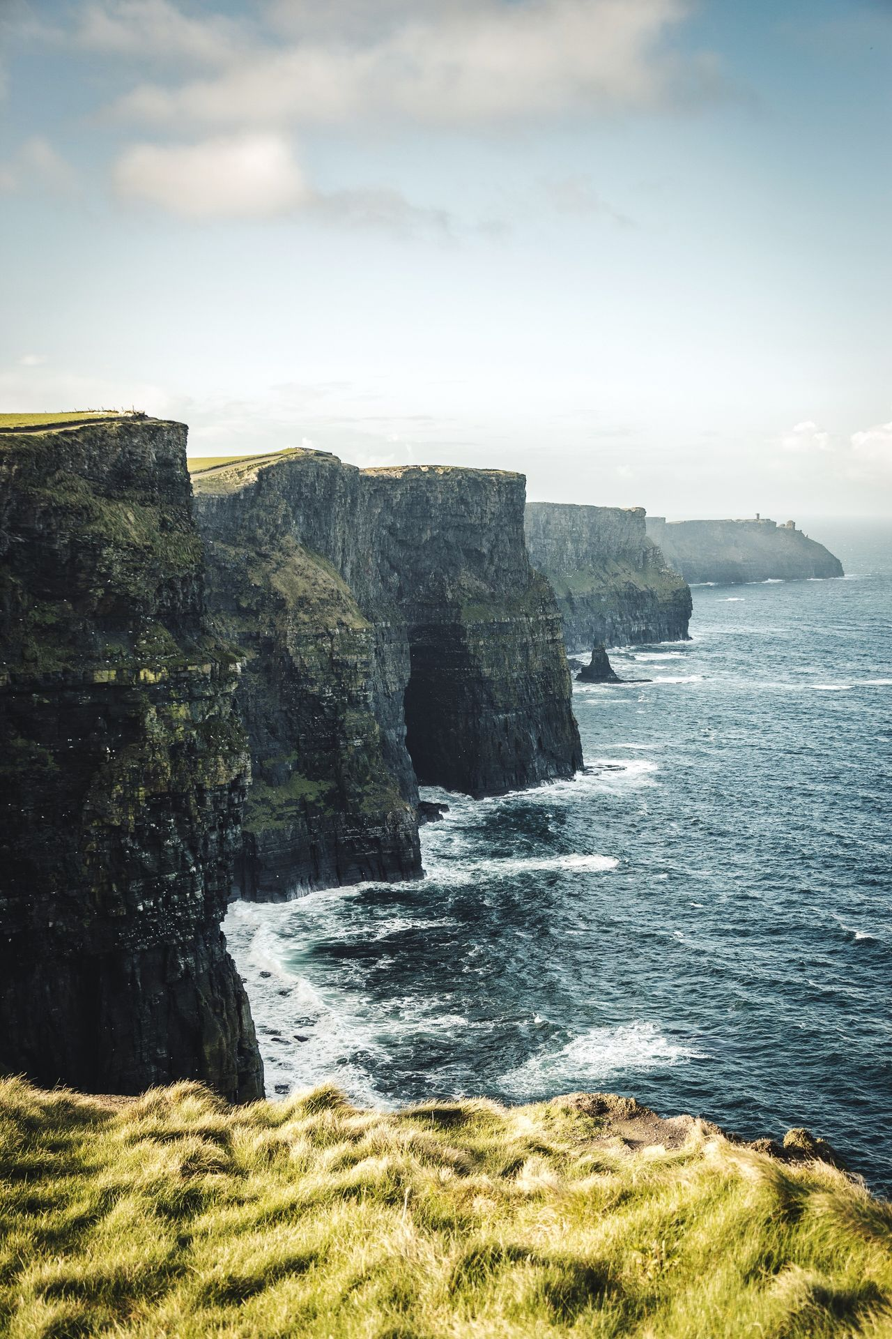 Another good reason for Ireland. Sea Nature Beauty In Nature Scenics Sky No People Rock - Object Water Tranquil Scene Tranquility Outdoors Day Horizon Over Water Cliff Ireland
