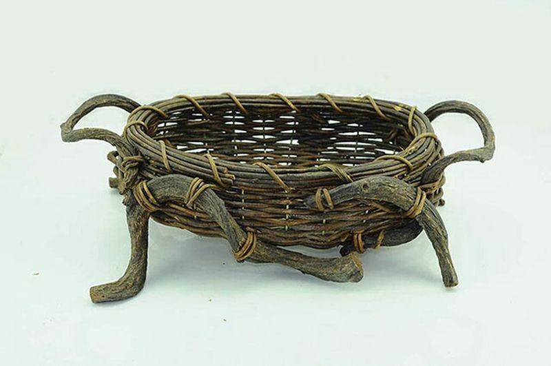 Rattan table basket Basket