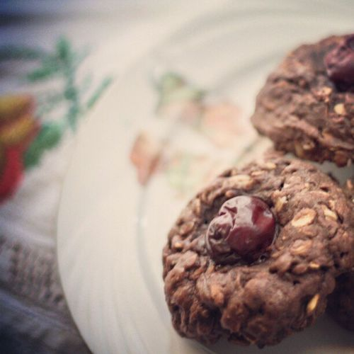 Thumbprint Oatmeal Cookies all the way!