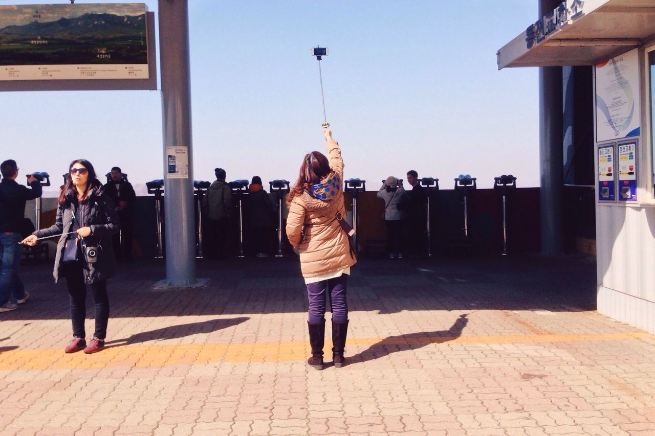 Selfie Stick Dmz DMZ, North Korea, South Korea Tourist Photography Photographer In The Shot ASIA