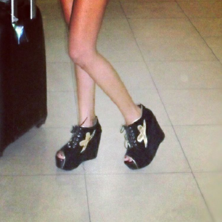 .one of my collections. I love. Shoes Wedge Black Collections tumblr winning goodfinds