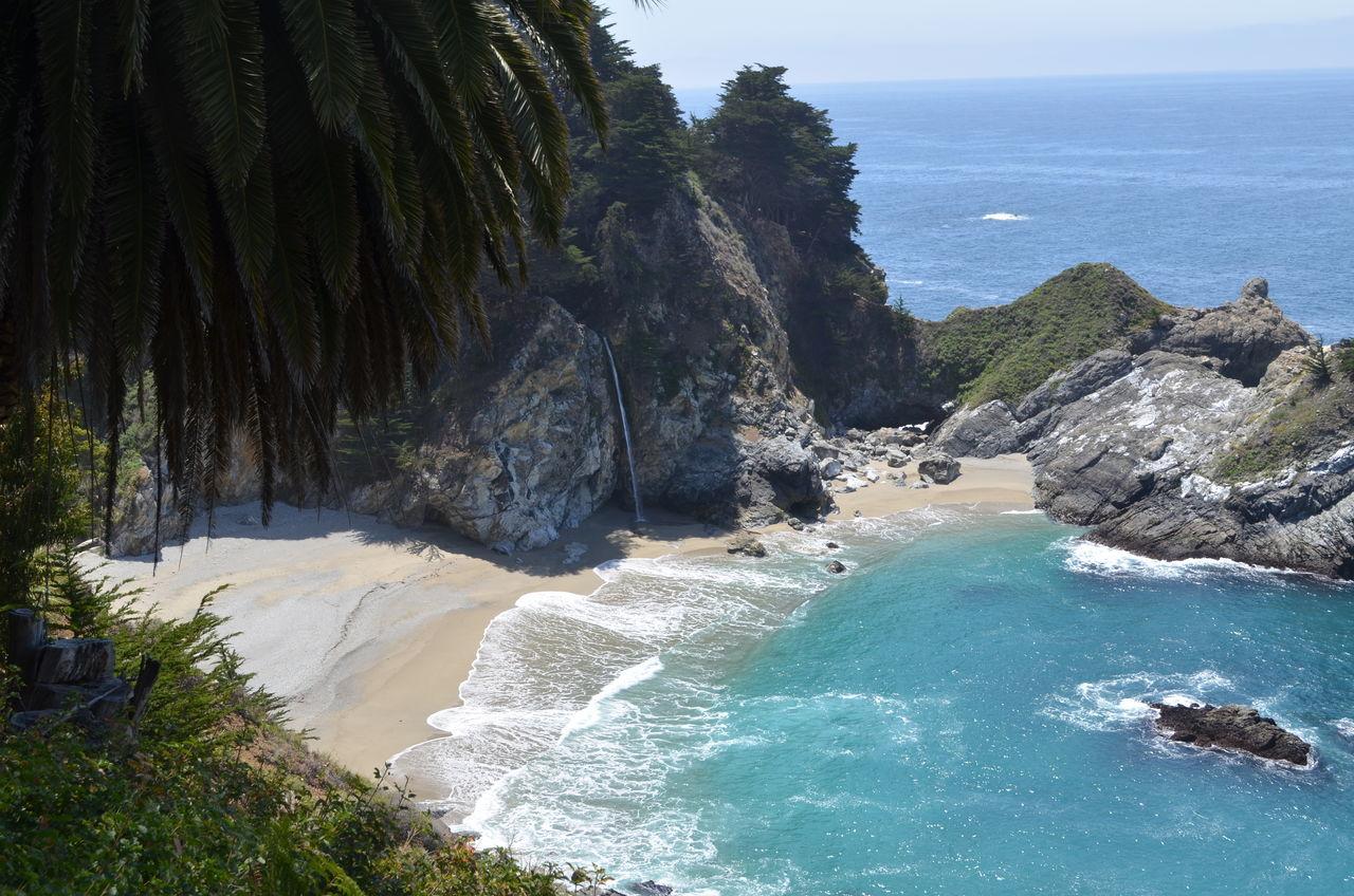 2015  Beach Big Sur CA🇺🇸 California Highway NO 1 Julia Pfeiffer Burns State Park Kalifornien McWay Falls Pacific Coast Highway Waterfall