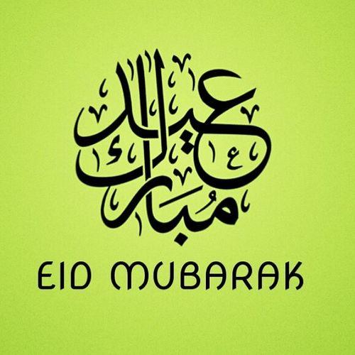 Eid Mubarak everyone and happy holidays. ??????