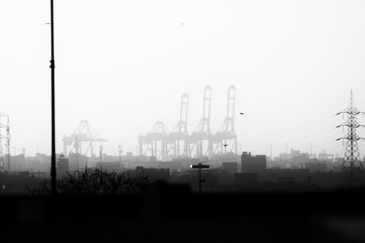 Port of Karachi Karachi EyeEm Hello World Karachi Tall - High Geometric Shape Karachi Pakistan Outdoors Industry Technology No People Seaport Sky Day