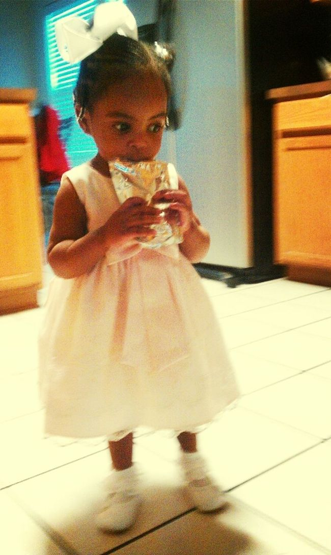 My Little Baby Went To Church Today