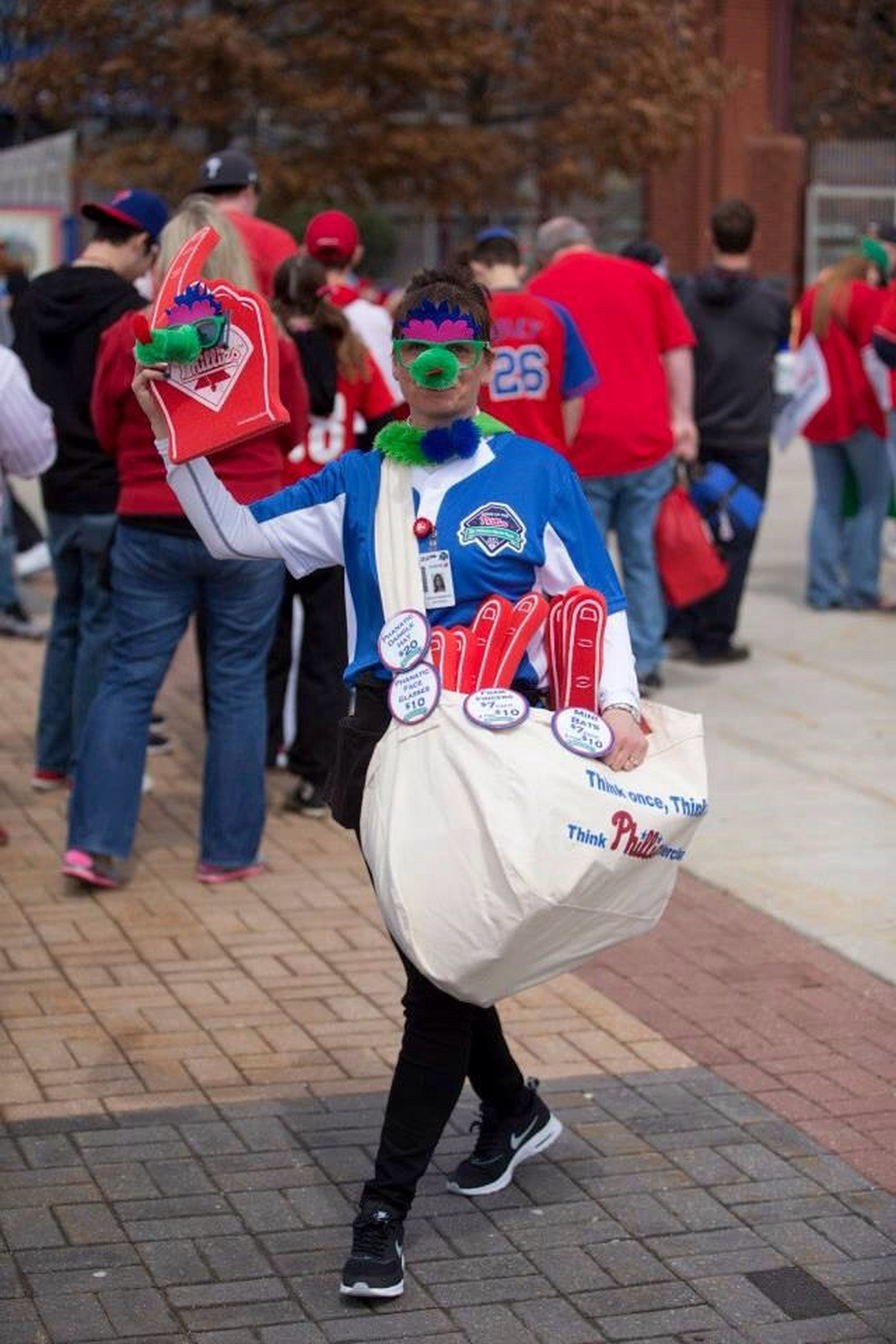2014 Phillies home opener Seasons Challenge TheVille Streamzoofamily GoPhillies
