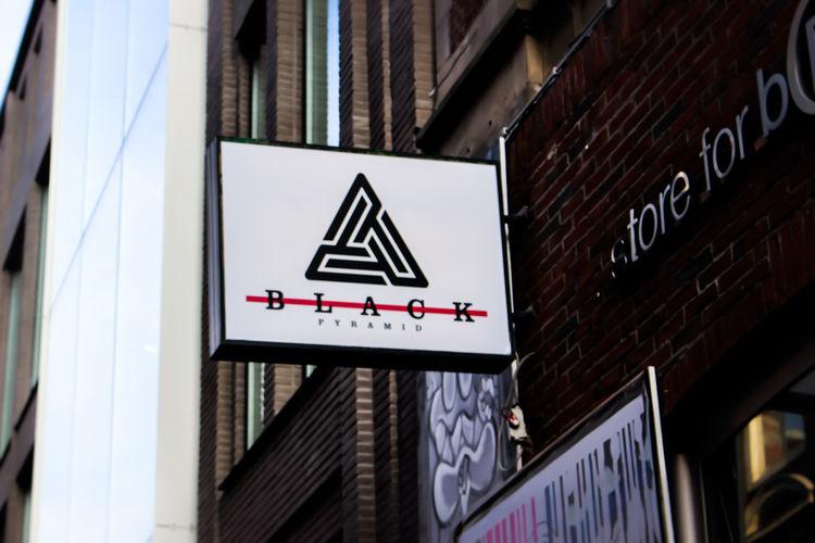 Blackpiramid Chrisbrown First Launch Store Amsterdam