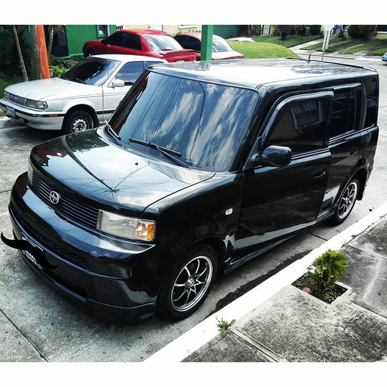 Effort, persistence, patience and most importantly rely on God's plan, these are the key parts in life. My new baby :) Scion  Xb  Boxcar Scionxb