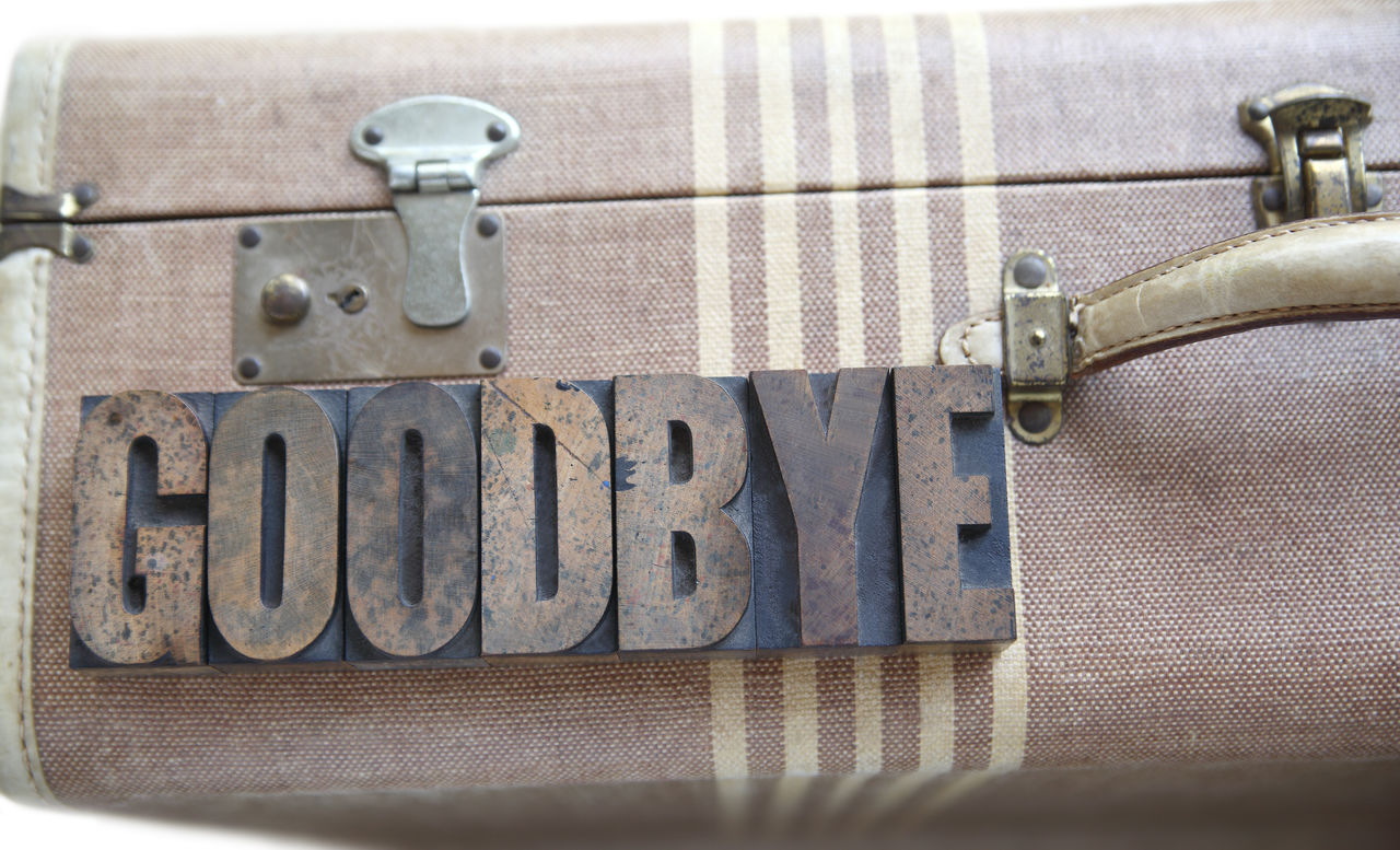 Beautiful stock photos of goodbye,  Brown,  Capital Letter,  Close-Up,  Communication