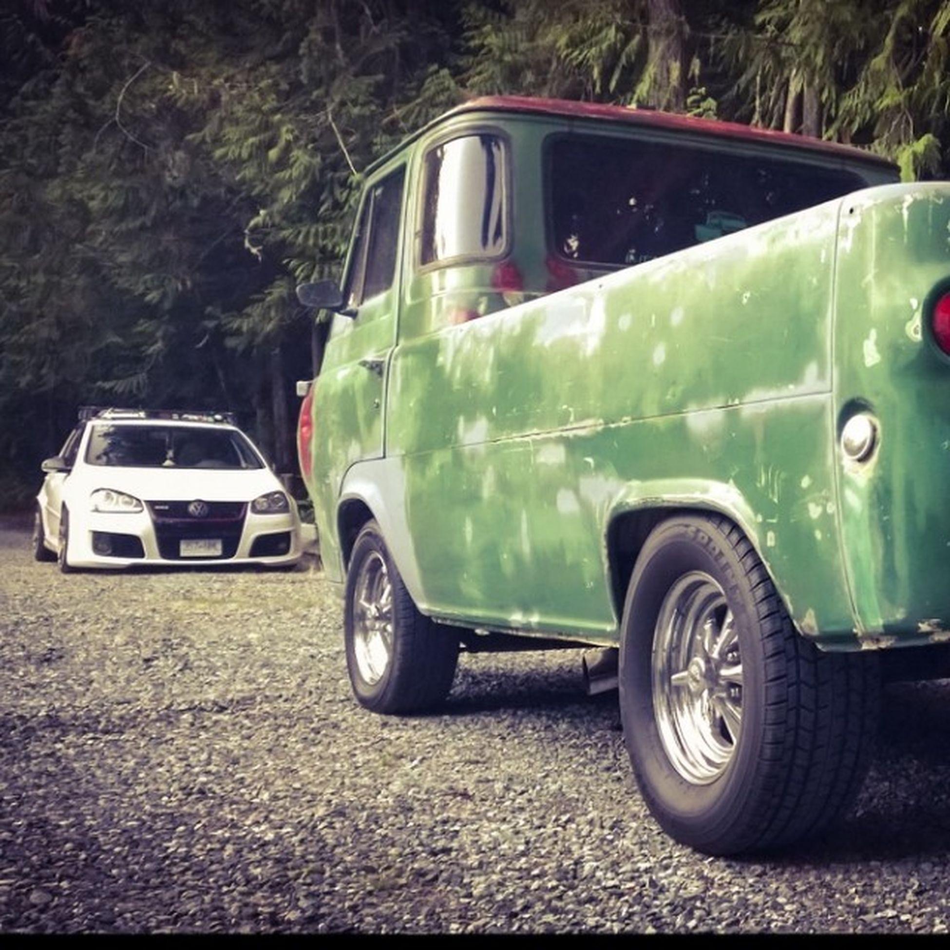 The team lol Econoline Boogievan Vannin VW gti lowrider