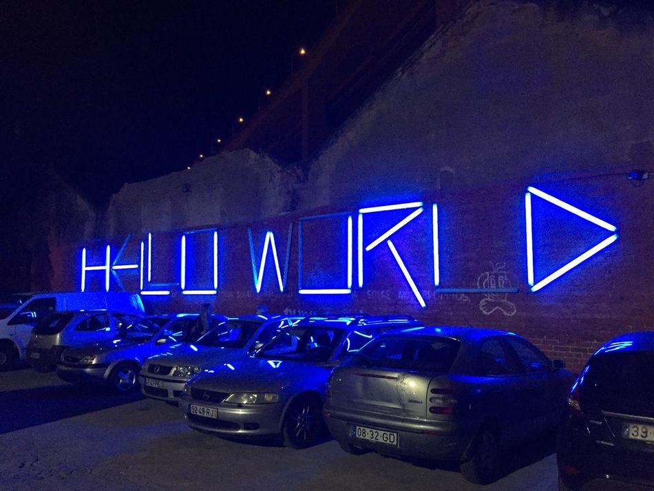 Hello World // Night Illuminated City Outdoors Lisbon Festival Helloworld Hello EyeEmNewHere EyeEmNewHere
