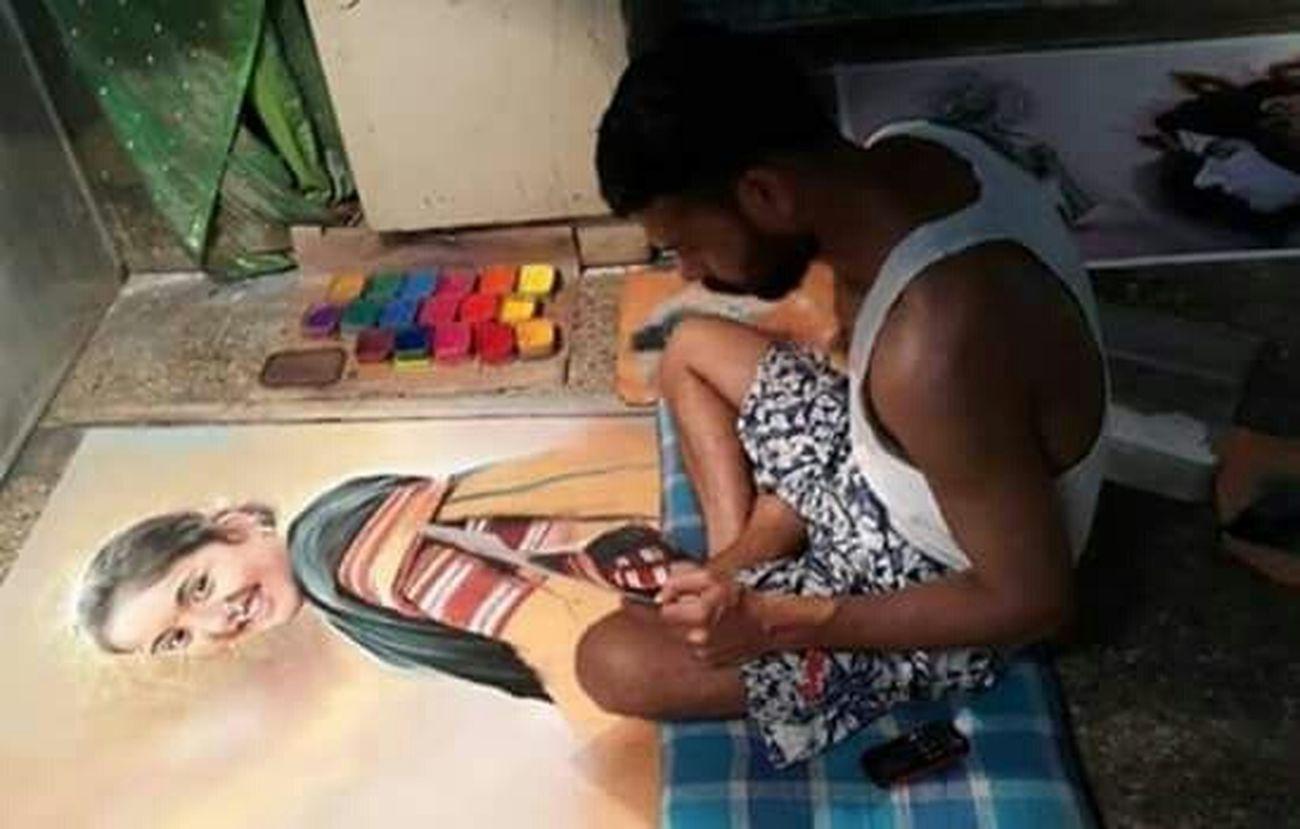 ArtWork Check This Out Taking Photos Artistic Photo BeautifulRangoli Rangoli Artist