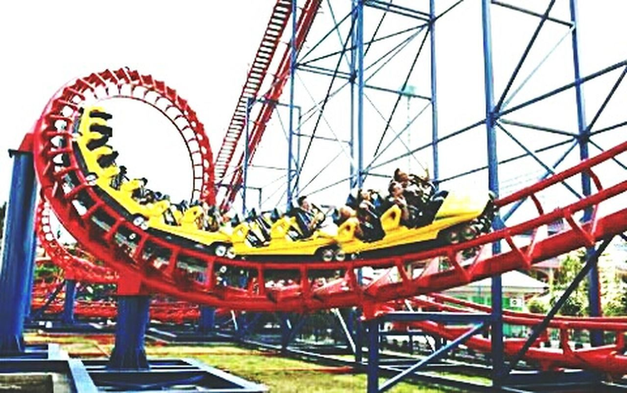 Rollercoaster Amusement Park Sky Fun Outdoors Day Amusement Park Ride Malaysian Legend Malaysianphotographer Malaysia Photography Kuala Lumpur Twin Tower RinggitMalaysia Foodphotography EyeEm Best Edits Nature Happy Time Large Group Of People Malaysia Largest Modern Leisure Activity