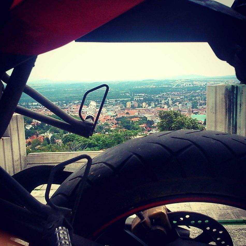 Pécs Ezatied Szemedlatja Hacsajodvanhozdel hungary bike motor motorcycle my love little monster red ducati corse two wheels wheel bikersofinstagram