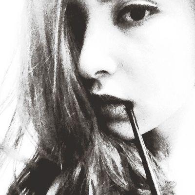Just Me Curly Hair Eyeliner Tonight Myself Lip Selfie Girl Hello World Faces Of EyeEm