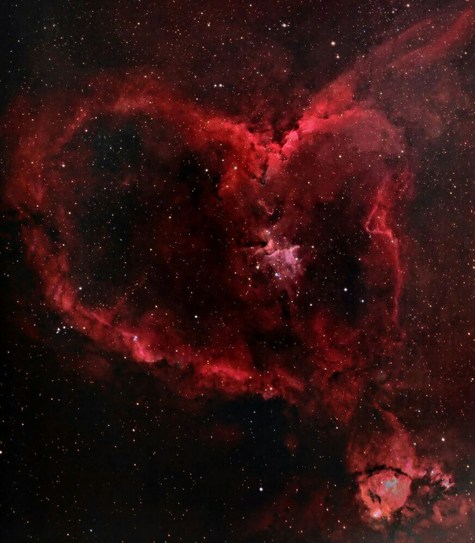 Heart Nebula....BIG GOD @God Beauty Nature Nebula Heart Heartnebula BigGod God