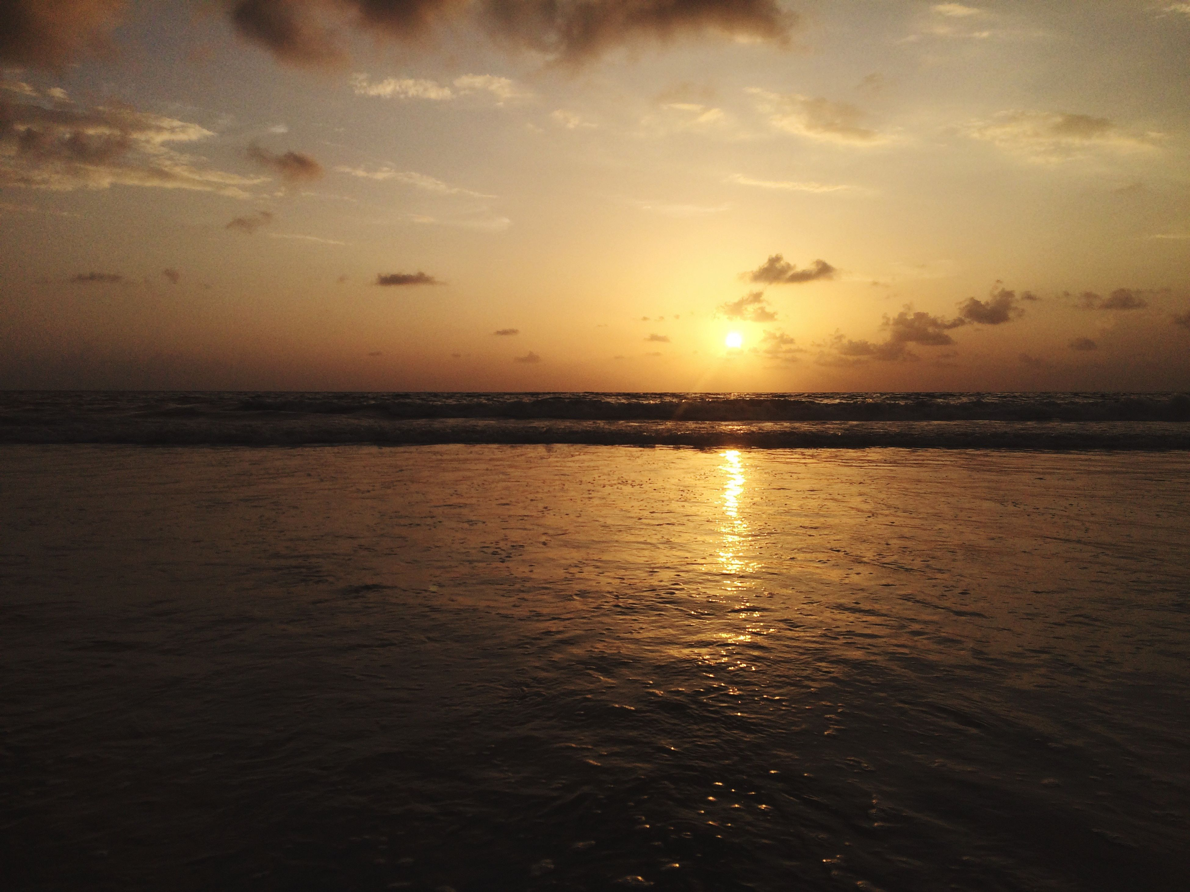 Sunset Sea Natural_view Sky No_limit Photography :)