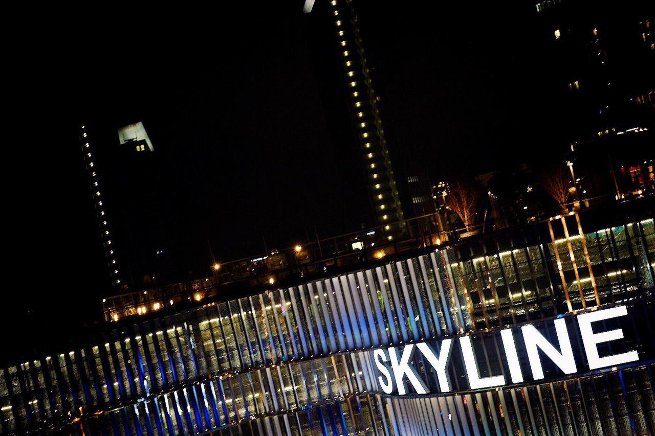 Rainy skyline. Skyline Frankfurt Plaza Shopping ♡ Shopping Mall Shopping Center Rain Reflection Lightflash Lights Citylights Night Nopeople NoPeopleAround Fuji X-t2 Fujinon 35mm 1.4