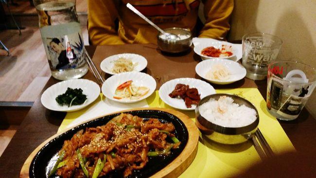 Parfois, Le plus petit restaurant peut vous apporter la meilleure des nourritures :) Bibimbap Kimchi Eating Jjigae