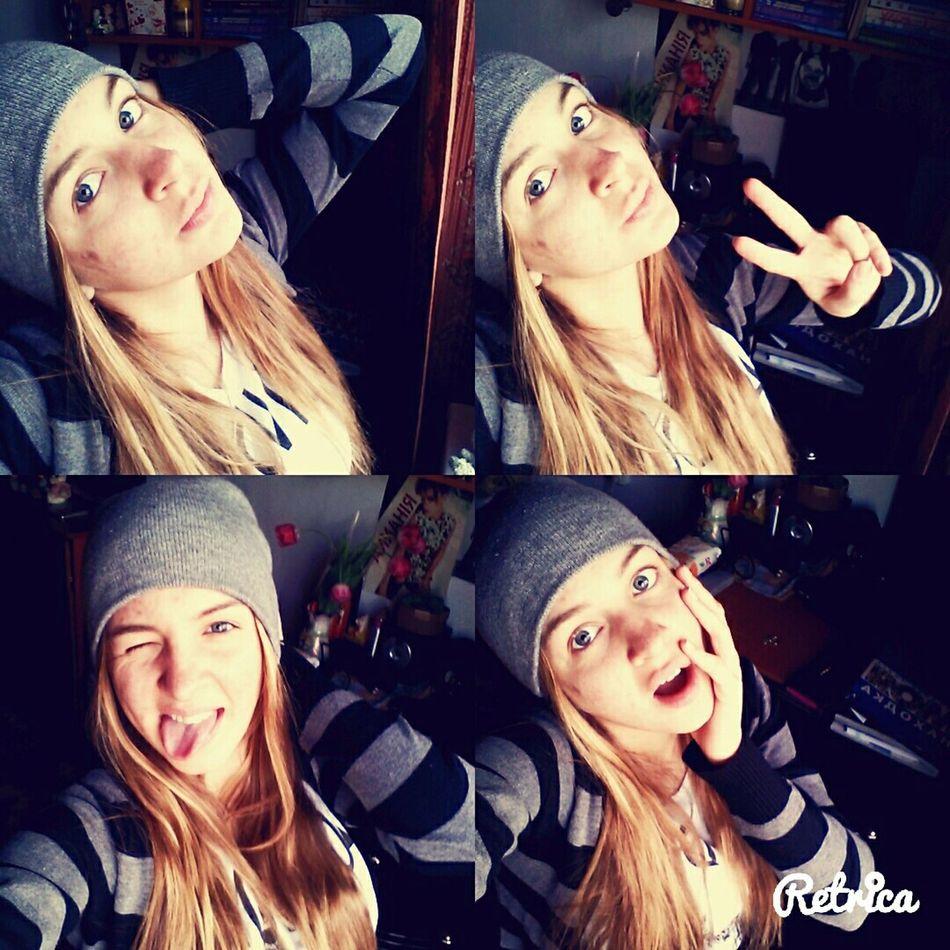 Hello Word Followme Img_russia Pretty Girl That's Me Vscocam Happy People Beauty Selfie