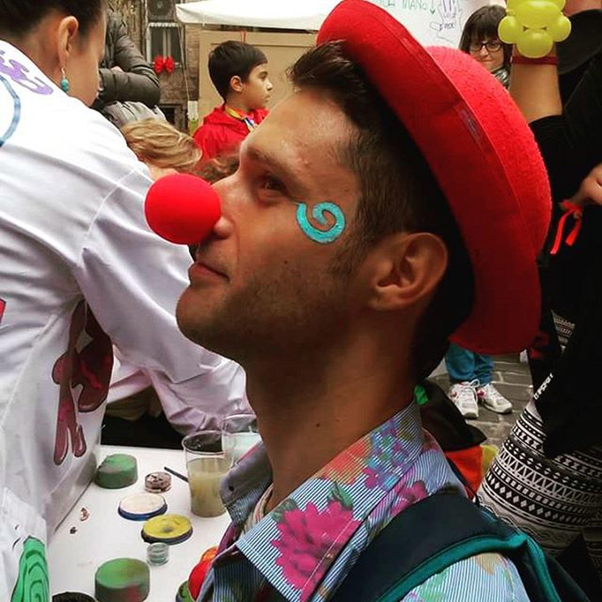 essere felici è una scelta Esserefelici Truccabimbi Montesangiusto Clownandclownfestival2015