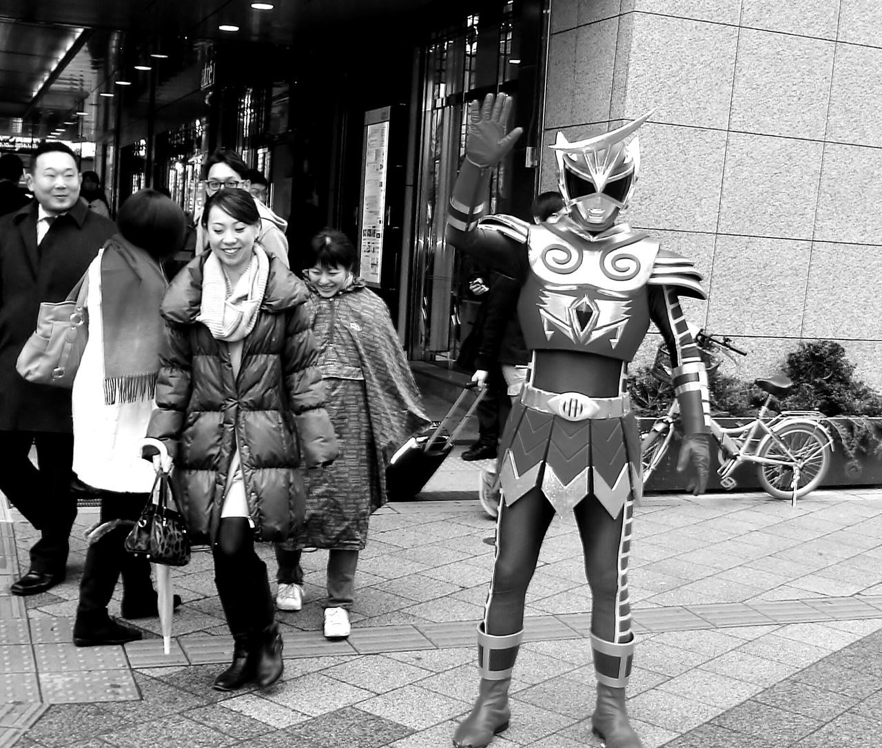 Tokio Japan Black And White Power Rangers Monochrome Blackandwhite Photography Blackandwhitephotography Relaxing Hi!Hello World