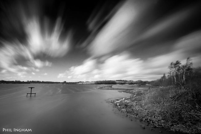 Another cold windy day down at Pennington Flash in Leigh Manchester . EyeEm Best Shots Shades Of Grey EyeEm Best Shots - Black + White