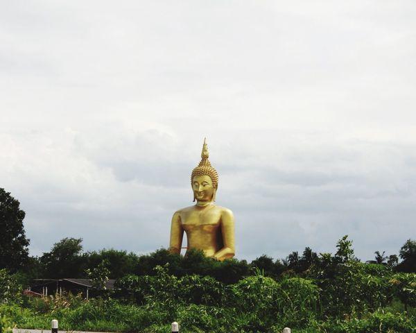 Temple Religion Golden Color Bhuddist