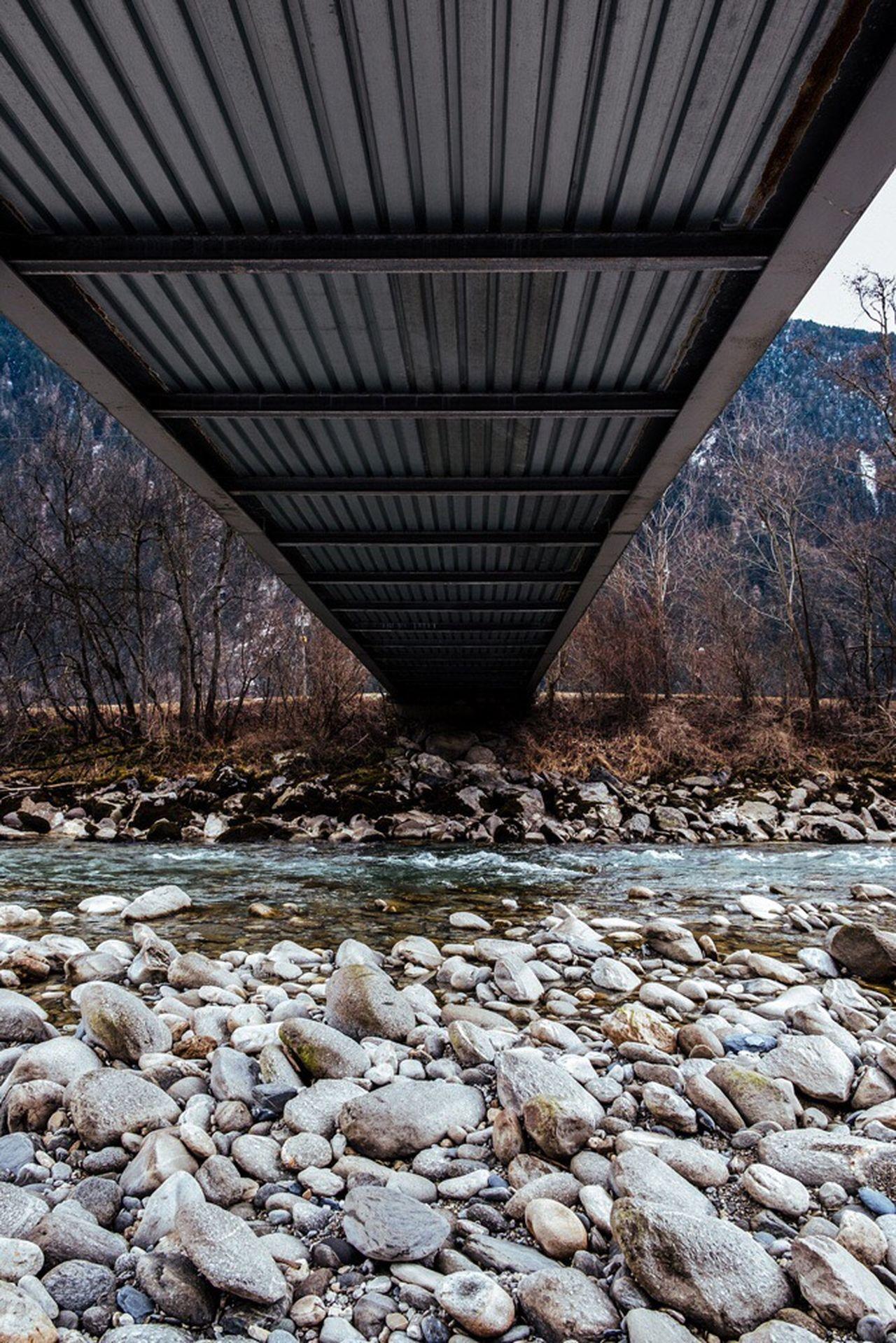Bridge - Man Made Structure Connection Transportation Outdoors Day Nature No People Tree Architecture Underneath Alps Nature Architecture Built Structure EyeEm Best Shots Bridge POV