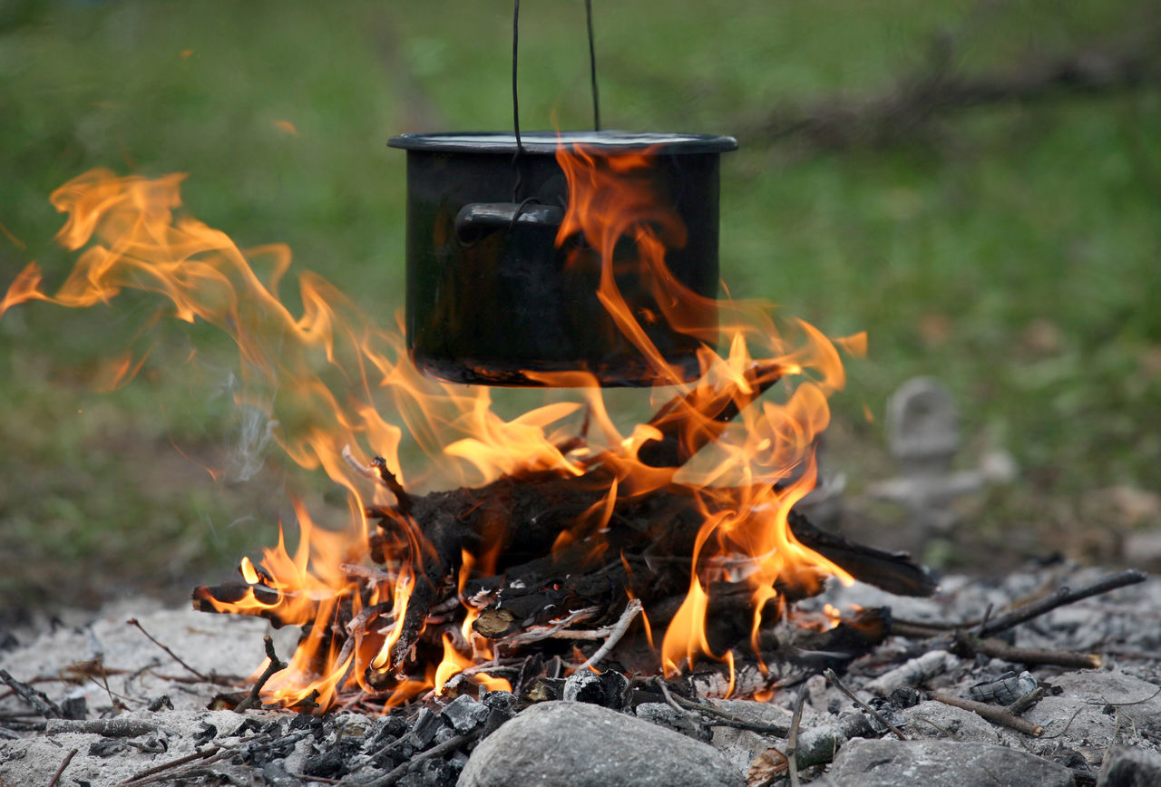 Adventure Bivouac Bonfire Burning Camp Campfire Camping Campinglife Cooking Cooking A Meal Cooking Life Cooking Time Fire Flame Food Heat - Temperature Meal Outdoors Pot Soup Survival Survive Water Camp