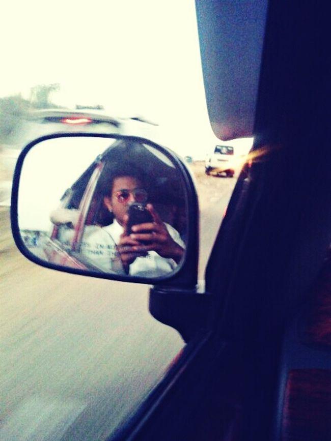 Selfie on 110kph Sakal Me Crazzy Drifting Exploring New Ground Simple Awsome Desert Alone As Always